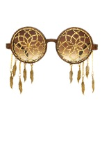 Santana 24 karat gold Swarovski crystal hand pave'd dreamcatchers