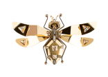 Lanvin - Luisa Gold Crystal Brooch