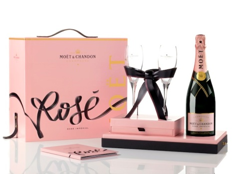 Moët & Chandon 'Tie-for-Two' Coffret