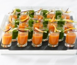 Carrot Orange Gazpacho - Andrea Bricco
