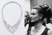 Reproduction of 1953 Cartier diamond necklace © Amélie Garreau