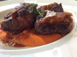 The Oxtail with sweet pataco mash