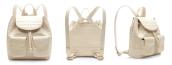 Nancy Gonzalez - White Crocodile Mini Back Pack