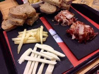 Cheese and Pata Negra - Manteigaria Silva