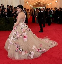 Tabitha Simmons in Dolce & Gabbana Alta Moda