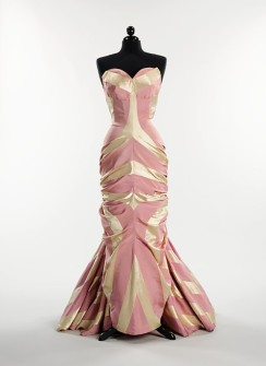 Schiaparelli's pastel gown - Glitter Glamour