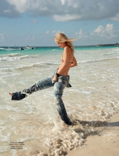 Nadine Leopold - Glamour Paris