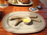 «Weisswurst» with Sweet Mustard and Bretz'n