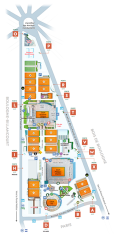 Roland Garros Stadium Map