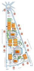 Roland Garros Stadium Map