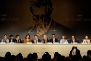 Members of feature films jury - Press conference © AFP