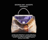 Georgia May Jagger's Peekaboo - Fendi