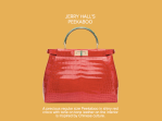Jerry Hall's Peekaboo - Fendi
