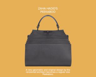 Zaha Hadid's Peekaboo - Fendi