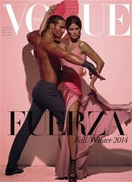 August Vogue Italia Cover