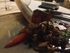 """Black Angus"" Beef, Mushrooms and Potatoes Puree"