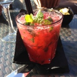 Strawberry and Coconut Mojito - Parrilla Natural Algarve