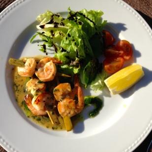 Shrimp Kebab - Parrilla Natural
